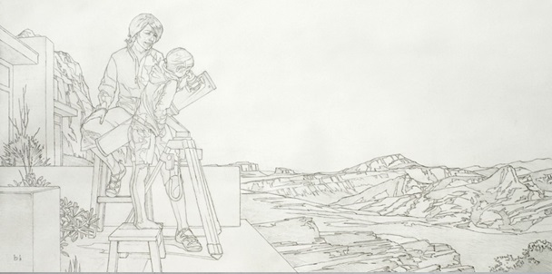 Rough sketching Figures Final- Starting a Painting